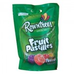 Rowntrees Fruit PASTILLES Pouch (150g) (Best Before: 03/2019)