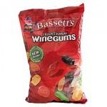 Bassetts Wine Gums (1kg Bag) (New Recipe) (Best Before: 11/03/18)