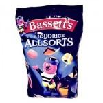 Bassetts Liquorice Allsorts (1 Kg Bag) (Best Before: 21.05.19)