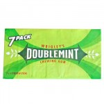 Wrigley's Doublemint Chewing Gum (7 Pack) (BBD: 22/7/15)