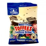 Walkers Assorted Toffees & Chocolate Eclairs (150g)