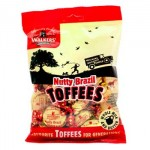 Walkers Nutty Brazil Toffees - 150g Bag  (Best Before: 30/6/17) **REDUCED - last 12**