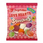 Squashies Love Hearts (160g) **NEW**