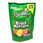 Rowntrees FRUIT PASTILLES Bag (120g) 'PMP' (Best Before: 02/2019) (REDUCED)