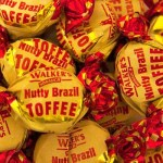 Walkers Nutty Brazil Toffees (100g) (Best Before: 19.08.18)