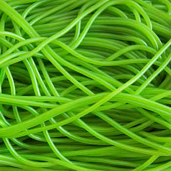 Green Shoe Laces Sweets