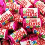 Swizzels MINI LOVE HEARTS (9 pcs/100g) (Best Before: 22.02.20)