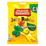 Bassetts Jelly Babies PMP (165g Bag) (Best Before: 24.04.19) (REDUCED)