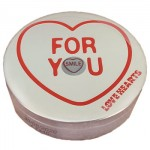 Swizzels Mini Love Hearts Gift Tin** - 100g (Best Before: 30.06.20)