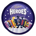Cadbury HEROES Tub (UK) (695g) (BBD: 31/3/17) **REDUCED**