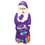 Cadbury Hollow Milk Chocolate Santa (50g)