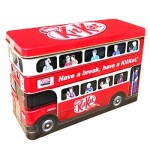 Nestle Kit Kat Limited Edition Bus Gift Tin (326g) (Best Before End: 03/2017) **REDUCED - 2 ONLY**