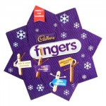 Cadbury Fingers Star Biscuits (360g) (Best Before: 17/6/17) **REDUCED**