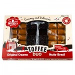 Walkers Nonsuch Toffee DUO Hammer Pack - Original & Nutty Brazil Toffee (200g) (BB:  08.01.21)