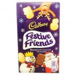 Cadbury Festive Friends Biscuits - 150g Box