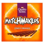 Quality Street Matchmakers ZINGY ORANGE - 120g (Best Before: 04/2019) (50% OFF)