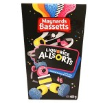 Bassetts Liquorice Allsorts Carton - 400g (Best Before: 17.09.20)