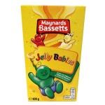 Bassetts Jelly Babies Carton (400g) (Best Before: 21.10.18)