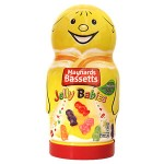 Novelty Jar - Bassetts Jelly Babies Jar - 495g (Best Before: 31.01.20)