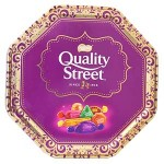 Quality Street Tin - Festival Design (Gold) (1.2kg)