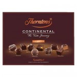 Thorntons Continental DARK Selection Box - 284g (Best Before: 30.04.19) (4 Left)