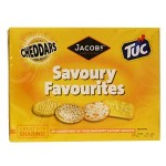 Jacobs Savoury Favourites Biscuits (200g) (10% Off)