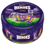 Cadbury Heroes Premier League Tin - Limited Edition - 800g Tin