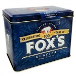 Foxs Glacier Limited Edition 100 Years Tin - 454g