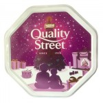Quality Street Tin - Christmas Design (White) (1.2kg)