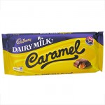 Cadbury CARAMEL Chocolate - 200g BLOCK (Best Before: 27.03.21)