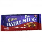 Cadbury FRUIT & NUT Chocolate - 200g BLOCK (BB:  08.04.21)