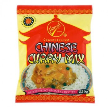 Yeungs Concentrated Chinese Curry Mix (220g) (BBE: 06/2015) **REDUCED ...