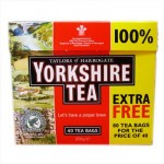 Yorkshire Tea - RED - 80 Tea Bags (40 + 40 FREE) (Best Before: 12/2016) **BEST VALUE**