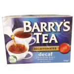 Barrys Tea - DECAF - 80 Tea Bags (250g) (Best Before: 18.05.22) (3 Left)
