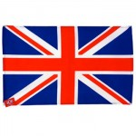 Union Jack Tea Towel (Plain) (Availability 3)