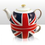 British - Union Jack Tea for One Set