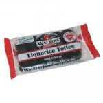 Walkers Toffee Block - Liquorice Toffee (100g Block) (Best Before: 16/07/15)