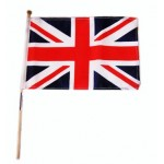 British - Union Jack Hand Waver Flag (10x15cm)