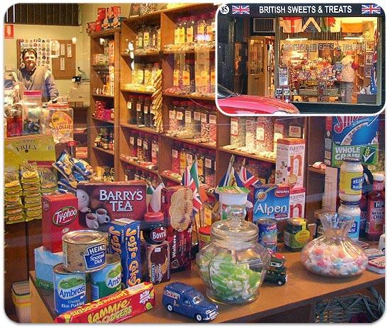 British Sweets Bondi Junction Store